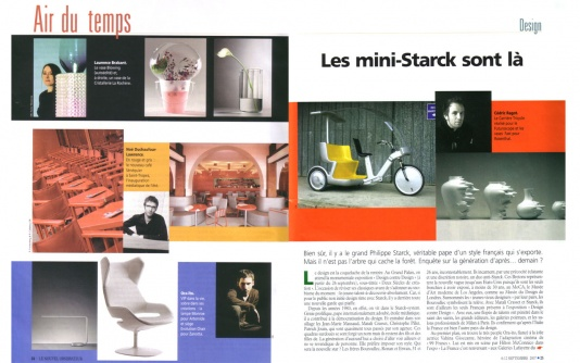 Le Nouvel Observateur, 09/2007