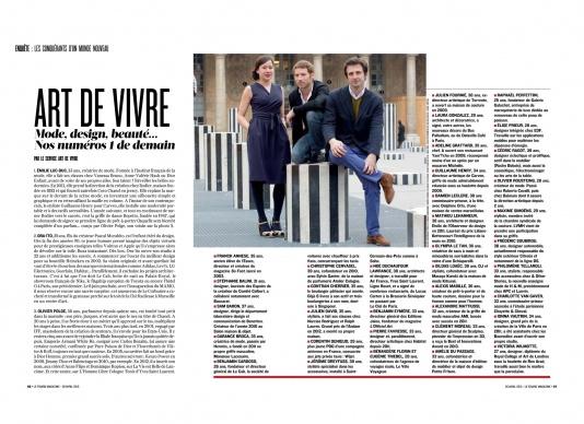 Le Figaro Magazine, 04/2013
